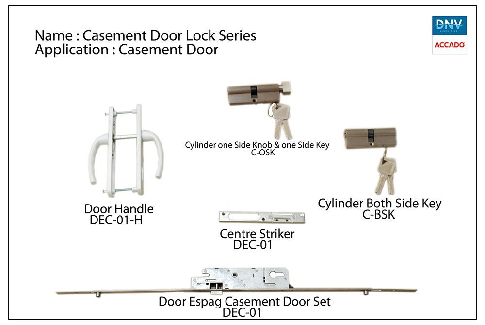 Casement Door Lock Series