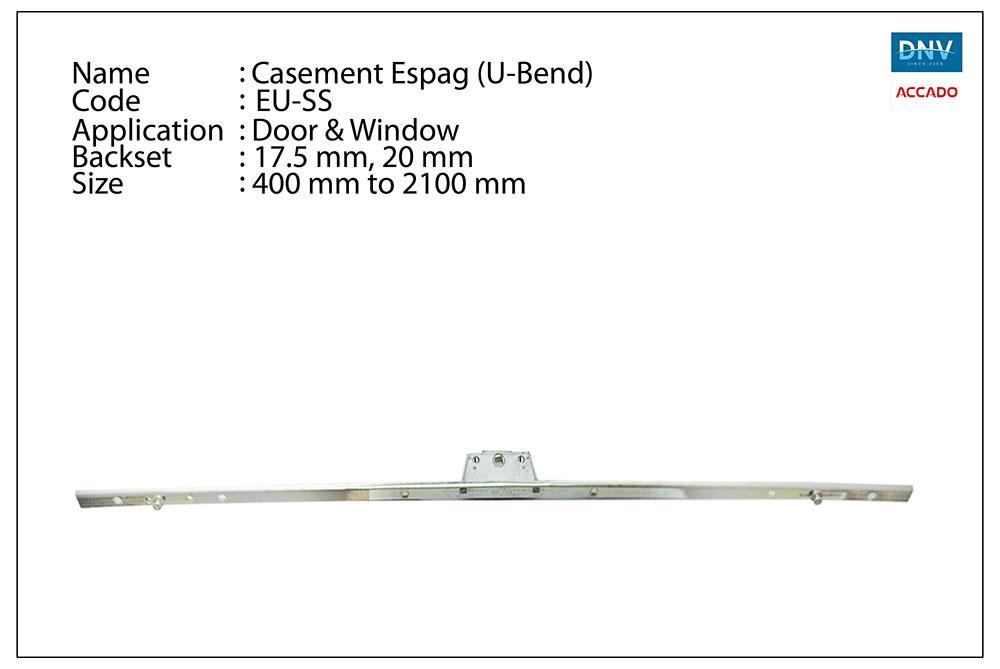 Casement Espag (U-Bend)