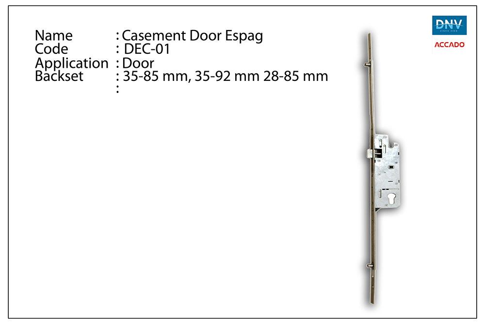 Casement Door Espag
