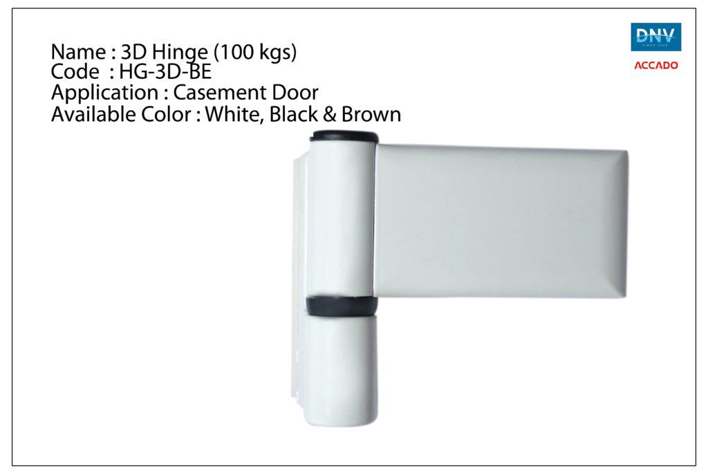 3D Hinge (100 Kgs)