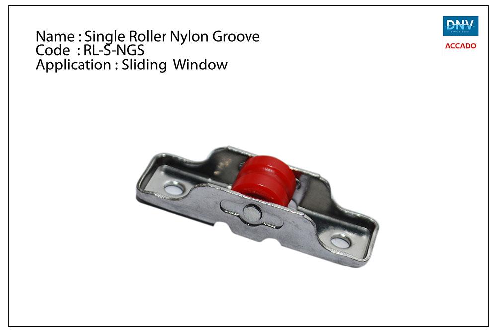 Single Roller Nylon Groove