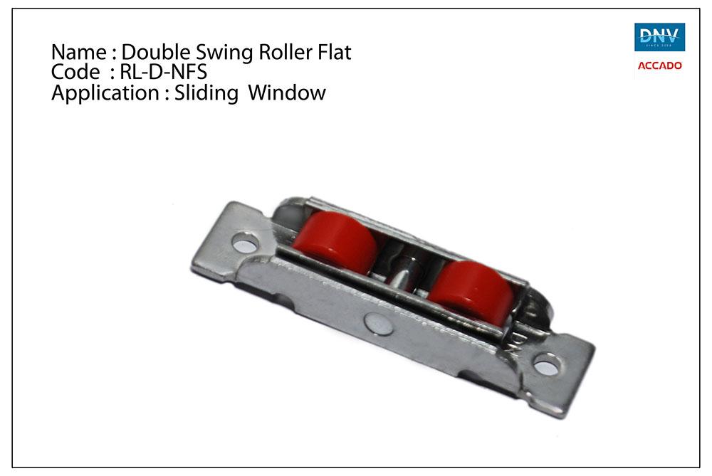 Double Swing Roller Flat